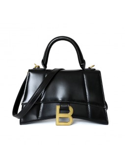 """Matri"" Black leather..."