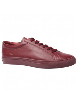 """Lodi"" Red low sneakers..."