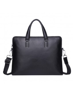 """Deisi"" Leather briefcase bag"