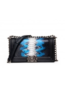 """""""Greco"""" Snake print leather..."""