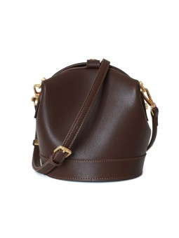 """Rivo"" Leather bucket bag..."