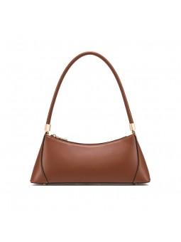 """""""Ricci"""" Leather baguette bag"""