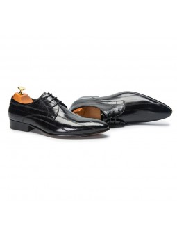 """Lorenzo"" Derby shoe leather"
