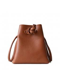 """Dodi"" Leather drawstring..."