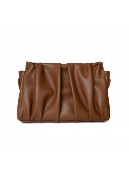 """Giordi"" Pleated leather..."