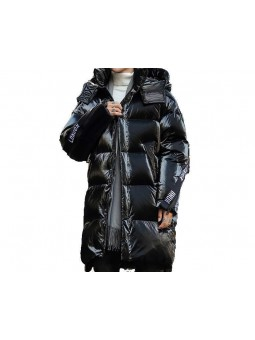 """Fenzi"" Long quilted black..."