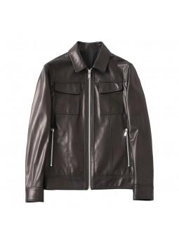 """Barigi"" Black leather..."