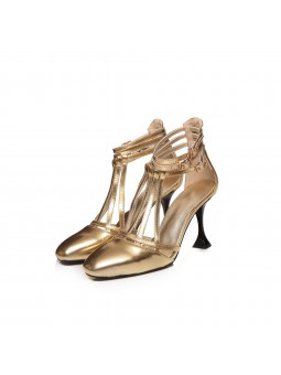 """Clea"" Golden leather..."