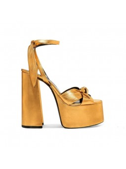 """Clea"" Leather high-heeled..."