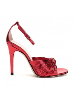 """Clea"" Leather strappy sandals"