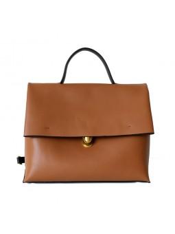 """Cisano"" Large leather handbag"