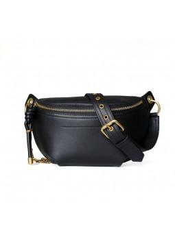 """Cisano"" Leather belt bag"