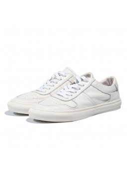 """Lorenzo"" White leather..."