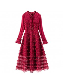 """""""Gena"""" Lace Detail Frilly..."""