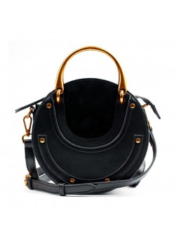 """Gianni"" Shoulder round bag..."