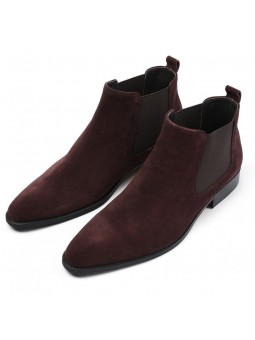 """Andrea"" Chelsea suede boots"